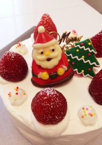 手作りで可愛く♡クリスマスケーキ