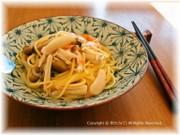 ワンポットパスタ★和風キノコスパゲッティの写真