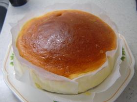 ☆スライスチーズ5枚でスフレチーズケーキ