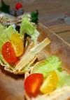 パーティーにも♪冬のカップサラダ