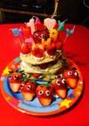 1歳のバースデーケーキ♡卵不使用