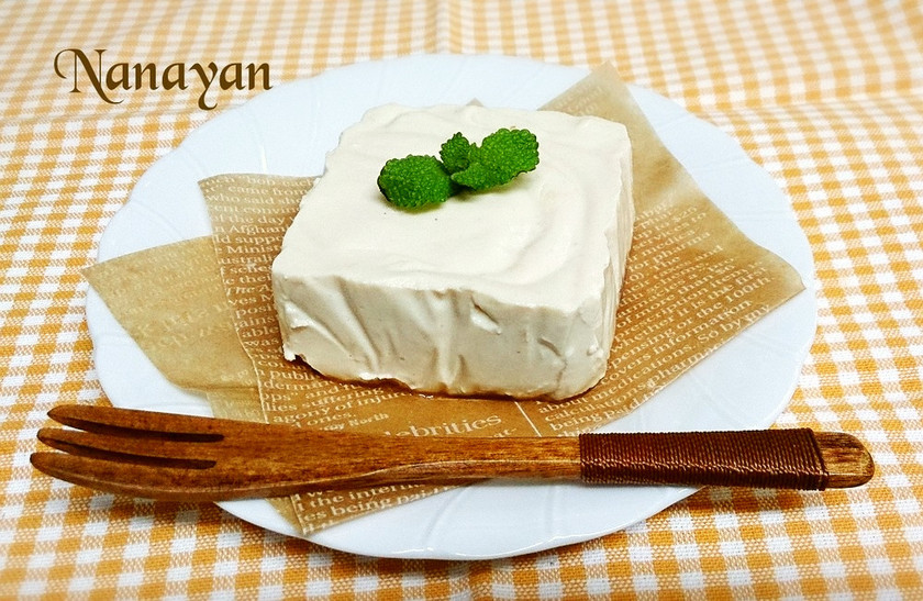 無塩料理☆超濃厚マクロビレアチーズケーキ