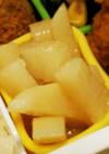 レンジで1分半☆お弁当に長芋のバター醤油