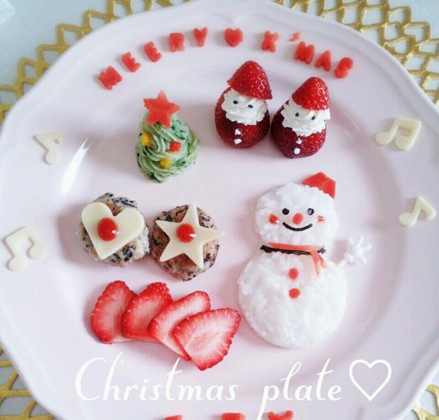 離乳食でクリスマスツリー★