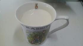 栄養バッチリ!きな粉と牛乳の消費にも(笑