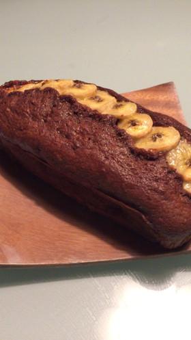 簡単♡HMでチョコバナナパウンドケーキ