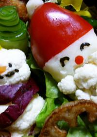 玄米菜食のクリスマス弁当☆簡単に隙間埋め