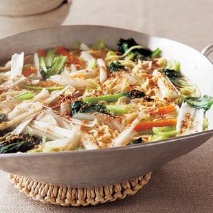 冬野菜煮込みラーメン