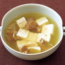 豆腐とザーサイの中華スープ