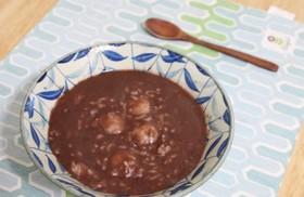 冬至に食べる韓国式お汁粉パッチュッ!