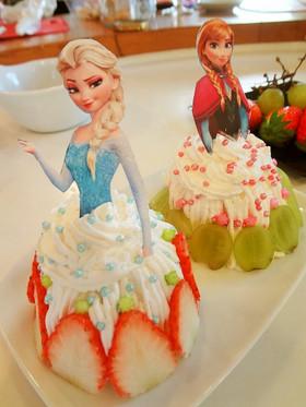 ドール デコ カップケーキ♪ 簡単!