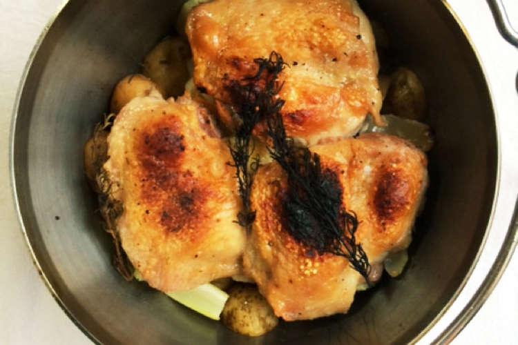 チキン ダッチオーブン ロースト
