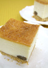 甘納豆入り♡豆腐チーズケーキ