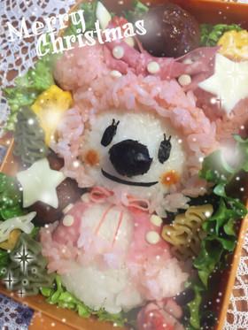 ♡冬のミニーちゃん♡キャラ弁♡