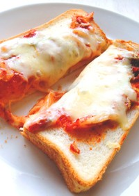 簡単!キムチとチーズのトースト