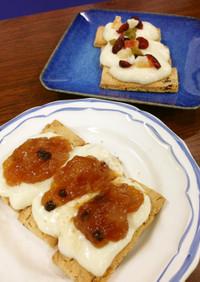 豆乳でつくる低カロリーアップルパイ風菓子