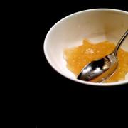 3つの材料で甘くて美味しい林檎ジャムの写真