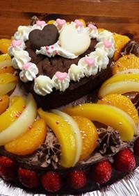 簡単!デコレーションケーキ