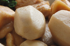 鶏肉と里芋の煮物◇治部煮風◇