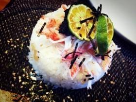 クリスマスやお正月に!簡単カニかま寿司