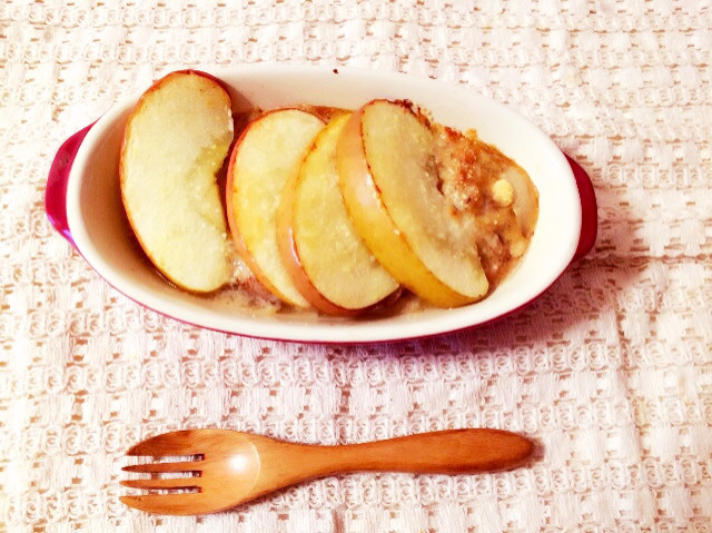 りんごの豆乳グラタン