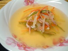 オサレに見える?!簡単野菜スープ