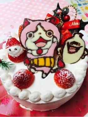 クリスマスキャラケーキ 妖怪ウォッチ