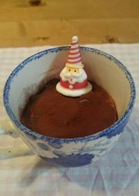 お手軽クリスマスおやつにティラミス☆ミ