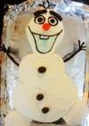 アナ雪 オラフのケーキ♪