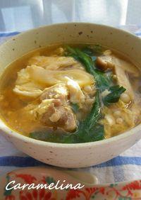 タッケジャン(鶏肉の辛いスープ)
