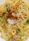 大根おろし和風 豚肉白菜ペペロンチーノ