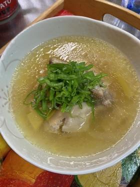 簡単手羽元参鶏湯!圧力鍋でスープとろ〜り