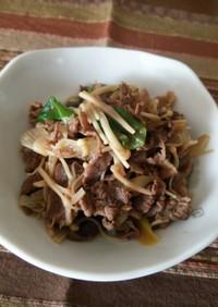 牛肉のすき煮♪うどん・蕎麦・丼・お弁当!
