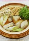 ブリと水菜の生姜鍋