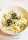 レタス&水菜&ブロッコリーのサラダ