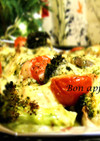 おもてなし★鮭とチーズのオーブン焼き