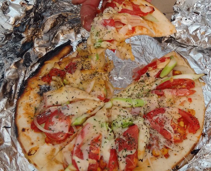 超簡単! BBQでのピザの焼き方