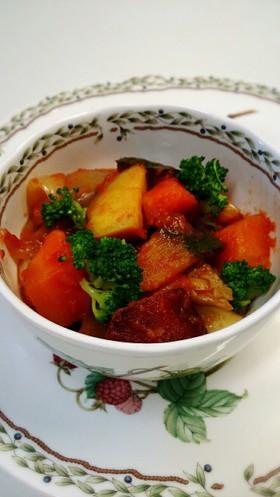 冬野菜のラタトゥイユ。
