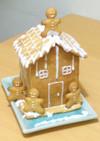 初級簡単なクリスマスクッキーハウス