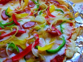 糖質オフ♪おからパウダーのピザ