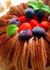 エンゼル型チョコレートケーキ