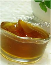アガーでぷるぷる★紅茶ゼリーの写真