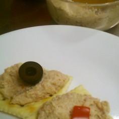 鶏胸肉とソーセージでチキンペースト 簡単