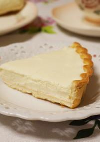 10分で完成☆濃厚レアチーズケーキ