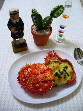蟹の味がする(笑)濃厚カニグラタン☆☆☆