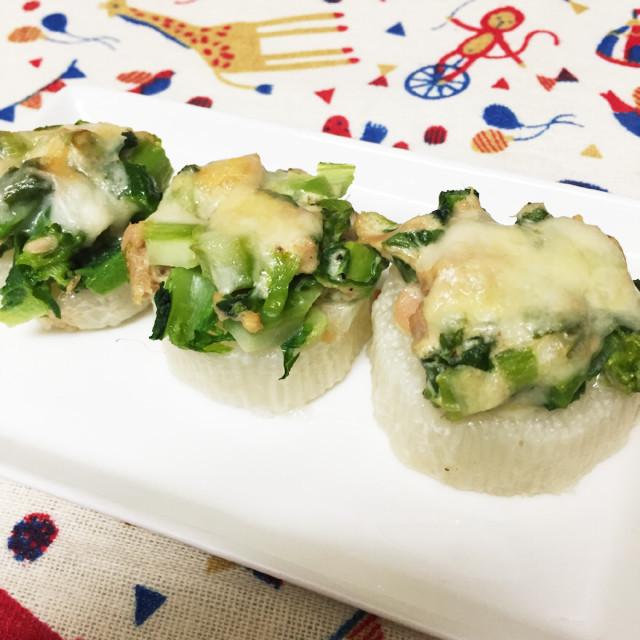 簡単!長芋のツナマヨオーブン焼き
