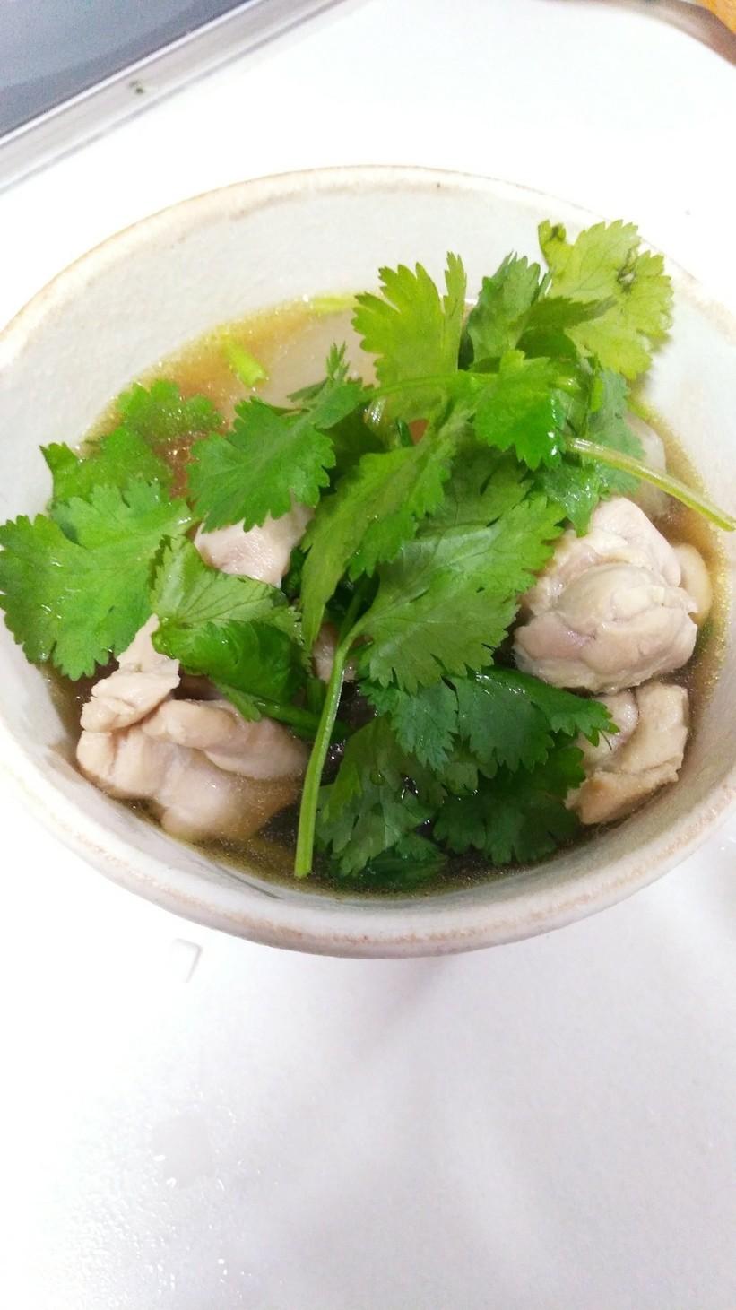 タイ料理 我が家の大根スープ