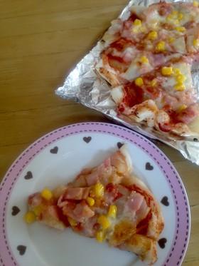 フライパンde簡単おもちピザ