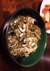昆布煮☆大根のツマと大葉をリメイク