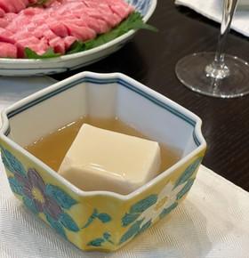 ♪簡単餡掛け豆腐